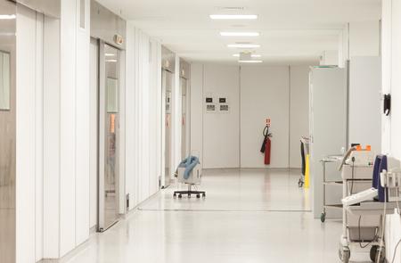 Hospital Surgeries Corridor Standard-Bild