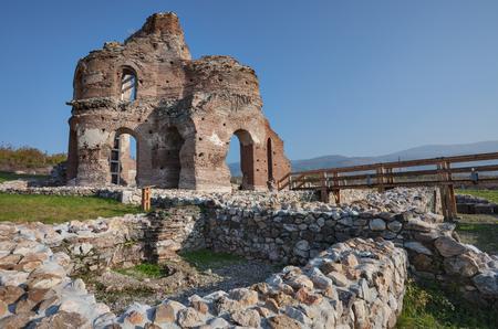 Ruins Red Church Bulgaria