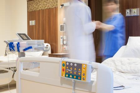 Hospital Room Bed Banco de Imagens