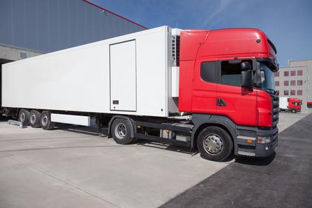 TIR Truck Logistic Center Banco de Imagens
