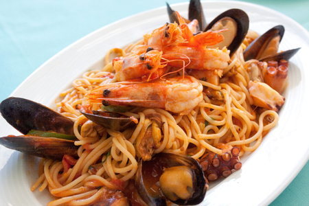 Spagetty Seafood Meal