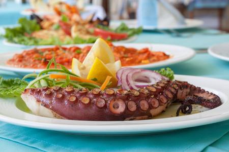 Meal Tentacle Octopus