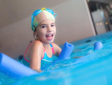 Swimming Pool Girl Noodle Foam