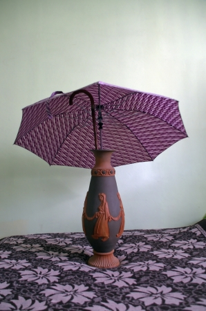 Vase for canes and umbrellas