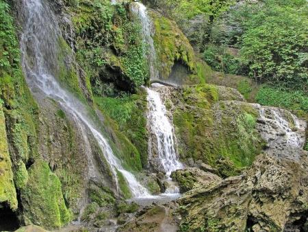 Cascade waterfalls nearer to the Krushuna village Bulgaria