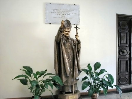 martino: Lobby of cathedral San Martino, Burano, Italy