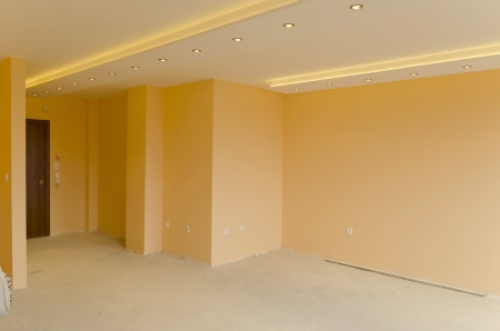 home renovations: Look to part of living room with LED lighting