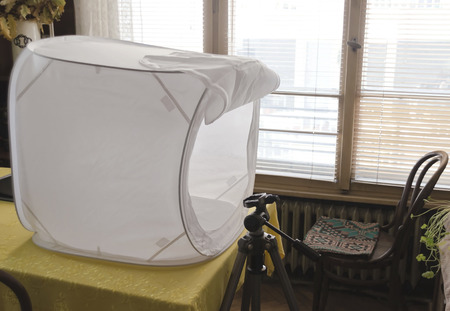 Photography light tent for object photography