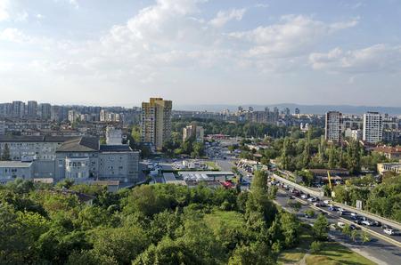 現代ブルガリアの住宅街住宅街ソフィア、ブルガリア