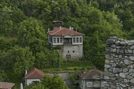 Landscape view to ancient Melnik town, Bulgaria