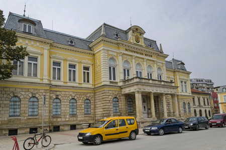 renovated: Renovated Regional Historical Museum in Ruse town, Bulgaria