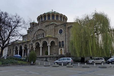 The old church St. Nedelya in Sofia, Bulgaria, Europe