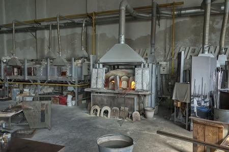 Murano island is the most famous place for handmade glass production by artisan glass-worker.