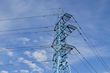 energia electrica: Línea de transmisión de energía eléctrica, Sofía, Bulgaria