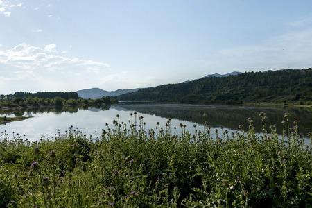 kerkini: Kerkini lake and mountain ecoarea at nord Greece