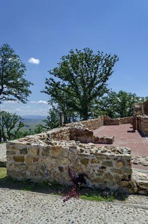 grad: Fragment along the medieval church Ascension, of prevails Mali town or Stari Mali grad, Bulgaria