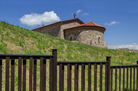 xv century: Reconstruction of the church from XV century Ascension, Belchin village, Bulgaria