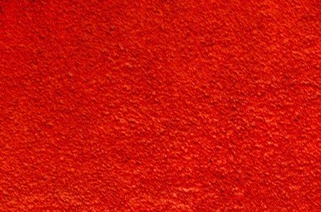 Natural background of plaster in red color, Lakatnik,  Bulgaria