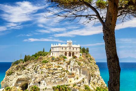 Church of Santa Maria dellIsola, town of Tropea, Italy.