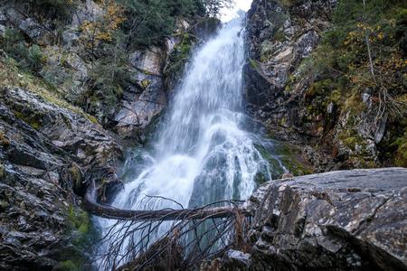 Waterfall Rohace in Tatras National Park, Slovakia, Europe.
