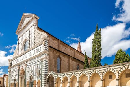 Santa Maria Novella, one of the most famous churches in Florence, Italy, Europe.