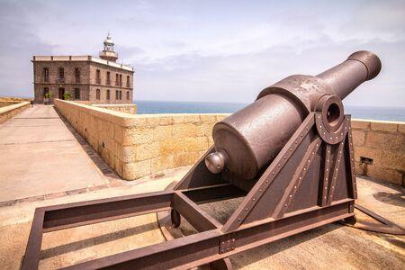 Melilla, Spanish province bordering Morocco in Africa. Zdjęcie Seryjne