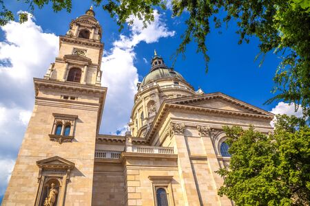 St. Stephens Basilica in Budapest, Hungary, Europe.