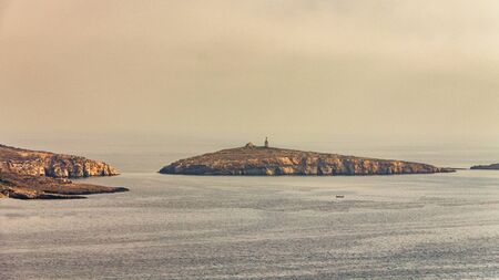 St Pauls Island, known as Selmunett, near the north-east of Malta, Europe.