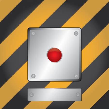 the red button Stock Photo - 17098430