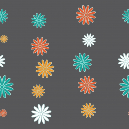 floral seamless colorful background photo