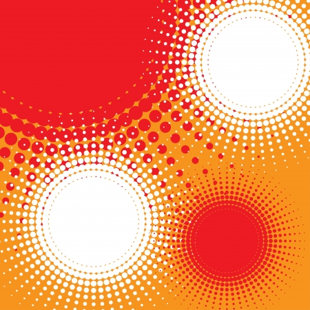 circle shape: abstract background  halftone