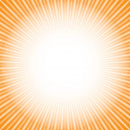 shine  orange background Stock Vector - 17206506