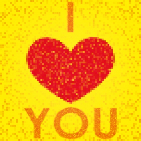 postcard Valentine Stock Vector - 17206490