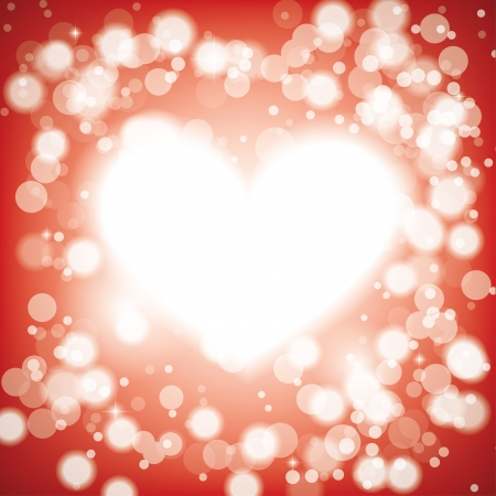 shining heart. background eps10 Stock Vector - 17316175