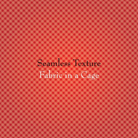 red fabric in a cage. seamless texture. eps10