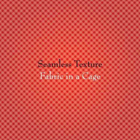 rode stof in een kooi. naadloze textuur. eps10