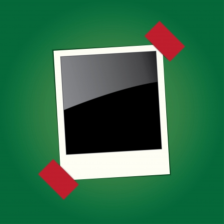 feature films: frame for the photo. vector. Illustration
