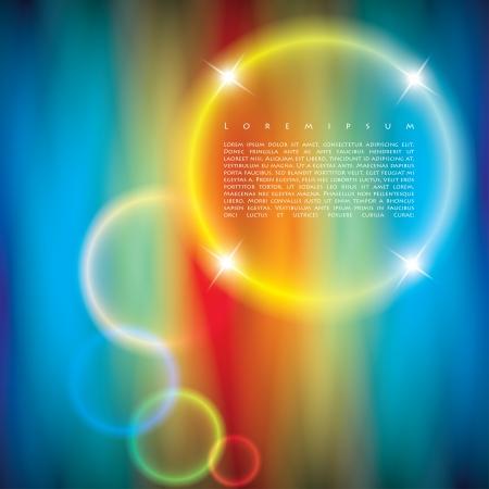 gekleurde ringen. abstracte achtergrond.