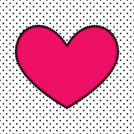 heart. valentines background. Stock Vector - 17915018