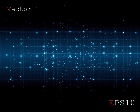 abstract space of a digital background Stock Vector - 17915855