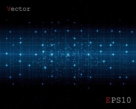 virtual space: spazio astratto di uno sfondo digitale