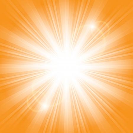 bright sunlight. Stock Vector - 17915896