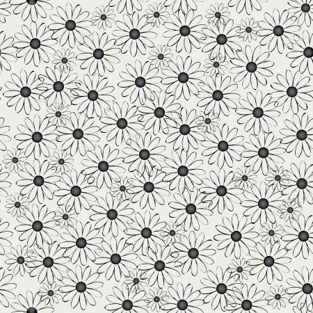 figure of flowers. seamless pattern. Vector