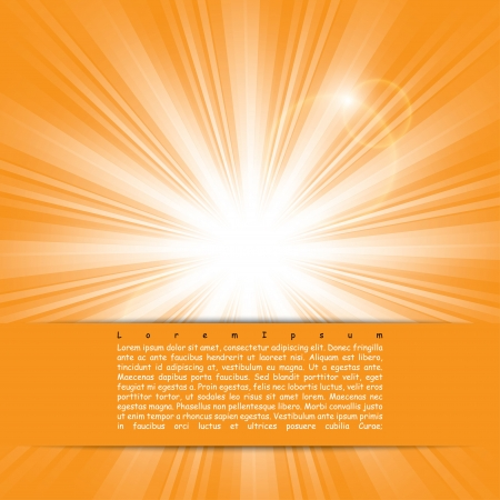 bright sunlight. poster.  Stock Vector - 17915898