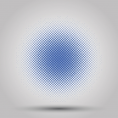halftone abstract background. vector eps10 Stock Vector - 18050781