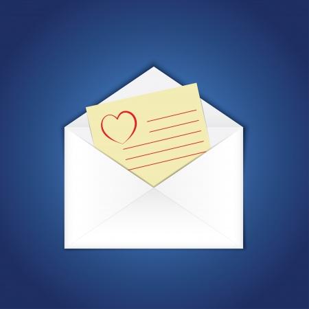 blank e-mail. vector eps10 Vector