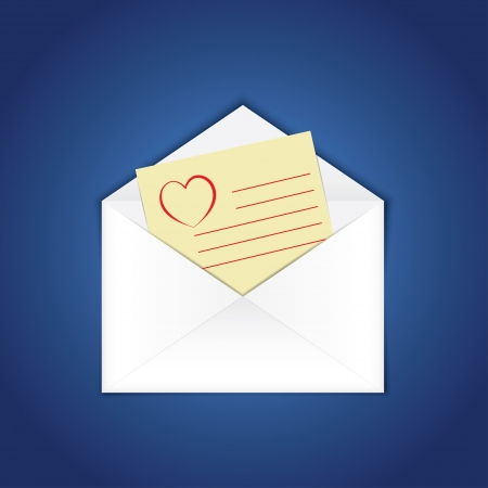 chatbox: blank e-mail. vector eps10 Illustration