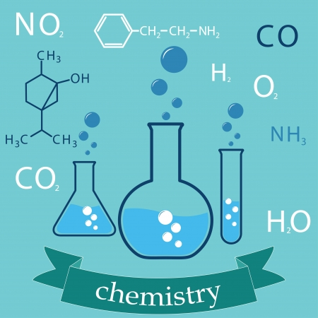 subject: subject of chemistry. cover-background