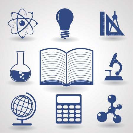 symbolen van het onderwijs