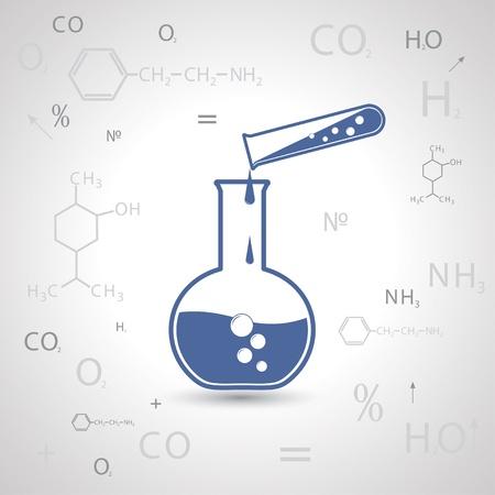 beaker: química. formación científica.